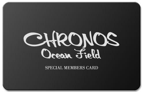 クロノス オーシャン フィールド MEMBERS CARD
