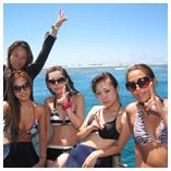 慶良間ボート体験ダイビング(スノーケル付き)